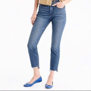 J. Crew Vintage Step Hem Jeans